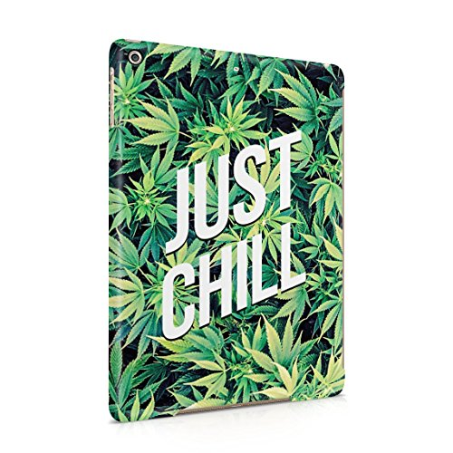 Just Chill Mary Jane Weed Take A Hit Puff Puff Blunt Dünne Rückschale aus Hartplastik für iPad Air 1 Tablet Hülle Schutzhülle Slim Fit Case cover (Clip Mary Jane)