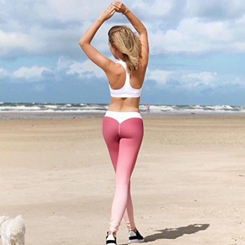 Tpulling - Leggings sportivi -  donna Rosso