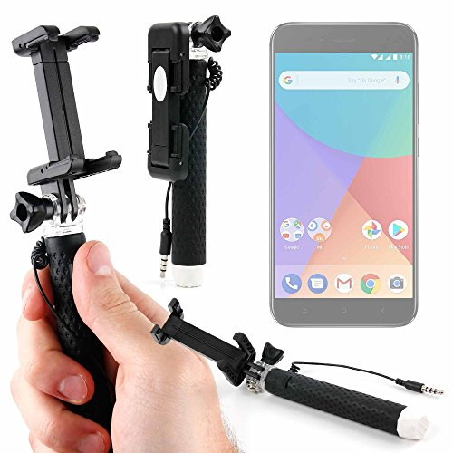 DURAGADGET Palo Selfie (Selfie-Stick) para Smartphone Xiaomi Mi A1