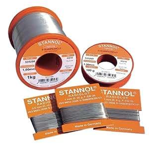 Stannol 535252lötdraht 1,0mm, 500g