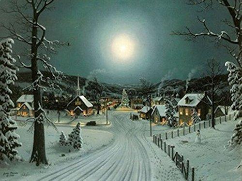 grande-festive-albero-di-natale-inverno-neve-scena-illuminare-led-tela-foto
