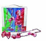 Coriex A96685 Haarset Bestehend aus Haarband, Clips, Gummies Im PJ Mask Design