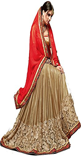 Sunshine Fashion Red Color Lycra & Georgette Fabric Embroidery Saree ( New Arrival Latest Best Design Beautiful Dresses Material Collection For Women and Girl Party wear Festival wear Special Function Events Wear In Low Price With High Demand Todays Special Offer and Deals with Fancy Designer and Bollywood Collection 2017 Punjabi Anarkali Chudidar Patialas Plazo pattern Suits )