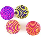 Pets Empire Durable Pet Rope Ball Dog Cat Playing Games (Pack of 2)
