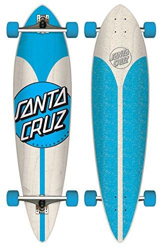 Santa Cruz Longboard Azul Pintail, 9.5 x 39.0 Zoll, SANLOBAZDOPI