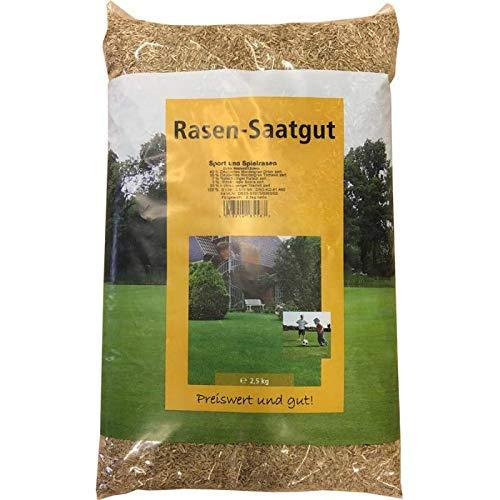 Spielrasen und Sportrasen SUN Rasensamen 2,5 kg