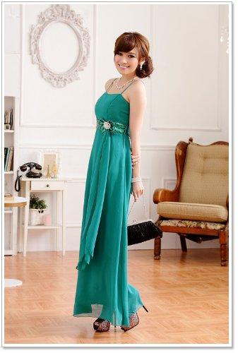 VIP Dress Robe de soirée en satin Vert