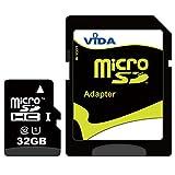 Neu Vida IT 32GB Micro SD SDHC Speicherkarte für Nokia - Lumia 520 - Lumia 620 - Lumia 720 - Lumia 810 Handy - Tablet PC - Lebenslange Garantie