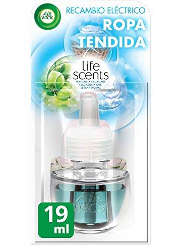 Air Wick Ambientador Eléctrico Recambio Ropa Tendida - 19 ml