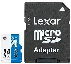 Lexar High Performance MicroSD 32GB 300X High Speed Class 10 Memory Card