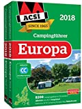 ACSI Internationaler Campingführer Europa 2018: 8200 Campingplätze in 29 Ländern (Hallwag Promobil) -