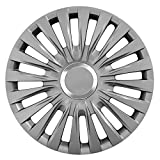UNIVERSAL – 16 Zoll Radkappen ENZO GRAPHIT (Grau) passend für fast alle Fahrzeugtypen