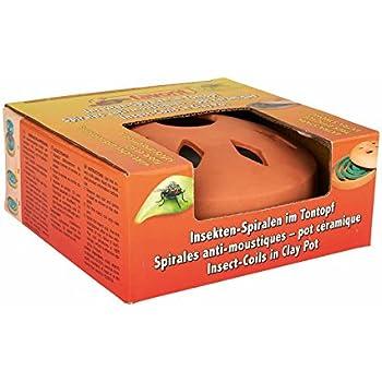 10 Pack  BRAECO 10x Antimücken-Spirale /& 2 Ständer Mücken /& Moskito 100 Spiralen