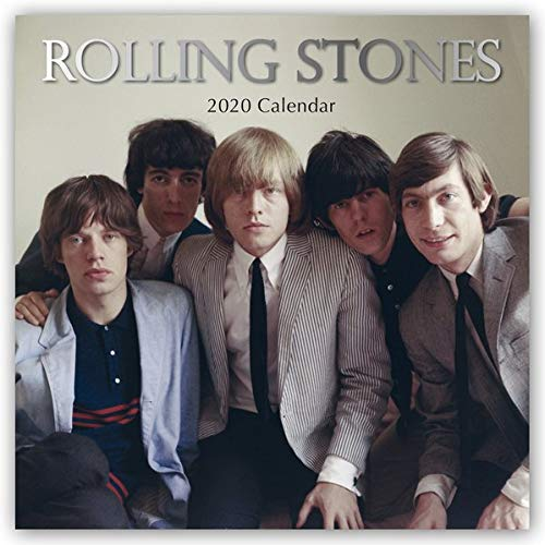 Rolling Stones 2020 - 16-Monatskalender: Original The Gifted Stationery Co. Ltd [Mehrsprachig] [Kalender] (Wall-Kalender)