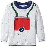 #6: Donuts Baby Boys' Knitwear (268014981_OFF-WHITE_12M_FS)