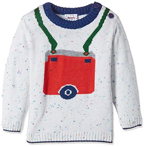 Donuts Baby Boys' Knitwear (268014981_OFF-WHITE_06M_FS)