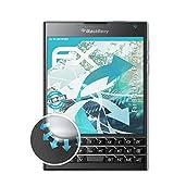 atFolix Schutzfolie passend für BlackBerry Passport Folie, ultraklare und Flexible FX Displayschutzfolie (3X)