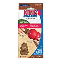 KONG - Snacks - All Natural Dog Treats - Liver Biscuits - Large (Best used with KONG Classic Rubber Toys)