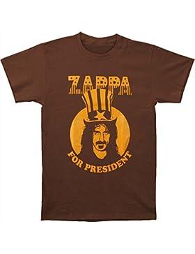 Old Glory - Camiseta - Unisex - Frank Zappa - Uomo President (Camiseta) - X-Large Brown
