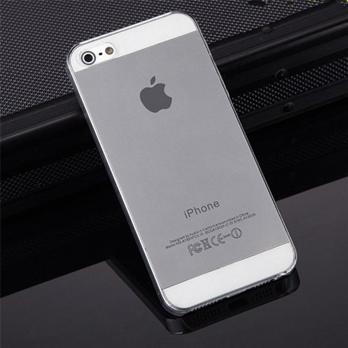 Rydges Designer High Quality Crystal PTU–Case per Apple iPhone custodia silicone cover borsa (kristalltransparent) ((iPhone 4/4S)) - ( iPhone 4 / 4s )