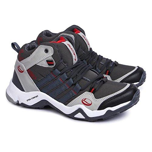 Lancer Men's Shoes (Red, 8, CUBA-220DGR-RED_8)