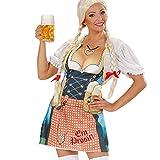 Bayern Frau Schürze Oktoberfest Grillschürze Gag Trachtenschürze Fun Kochschürze SIE Bayerische Party Küchenschürze Tracht Kostüm Zubehör