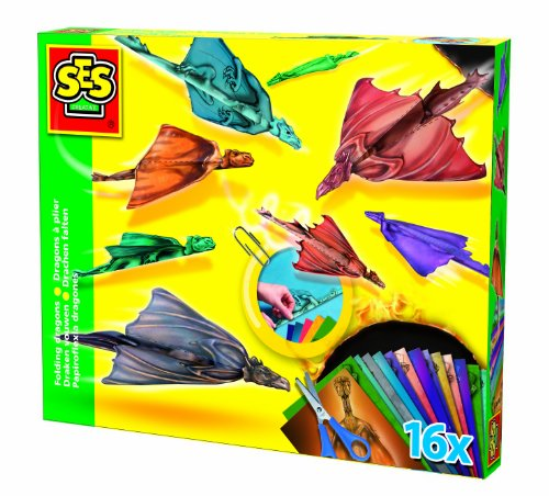 kit-de-pliage-dragons-a-plier-16-dragons-ciseaux-trombones-dvd