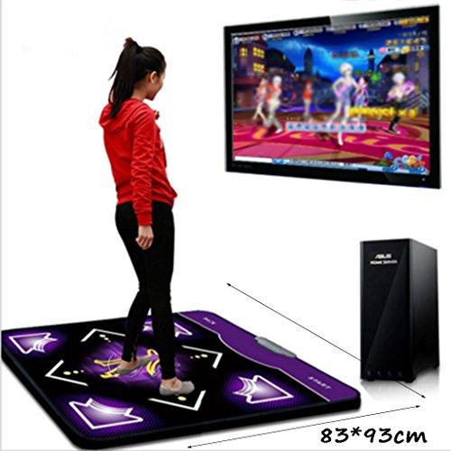 TWD Sport Tanzmatte Multi-Funktions-Single HD USB-Schnittstelle Computer Spezielle Verdicken Hause Gewichtsverlust Tanzmaschine GHJ (Design : A)