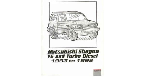 Pocket Mechanic for Mitsubishi Shogun and Pajero with V6 Petrol and