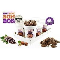 Nuteine Bombon PACK DE 6 x (100Gr) PROTEIN SNACK chocolate con leche. El nuevo tentempié alto en proteínas, bajo.