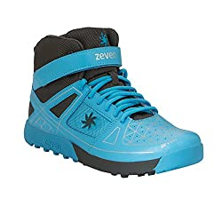 Zeven Blaze Mesh Cricket Shoes, Mens UK 10 (Blue)