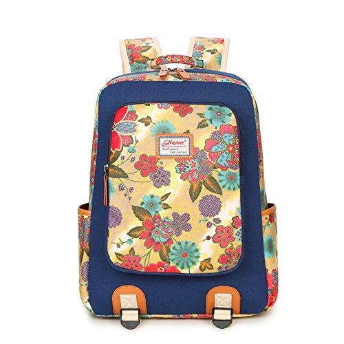 Zaino in tela/borsa Liceo Studentesse/Sacchetto di svago coreano/Semplice moda Joker laptop bag-C B