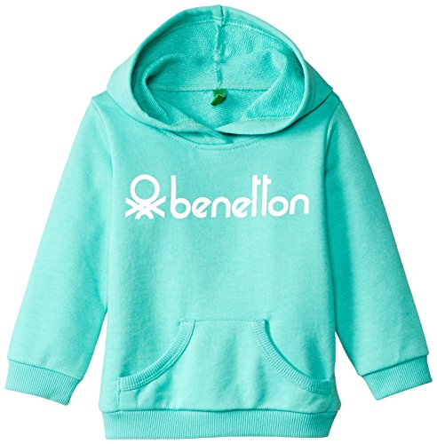 United Colors of Benetton Baby Girls' Sweater (15A3J67C2028G06A_Water Fall Blue_0Y)