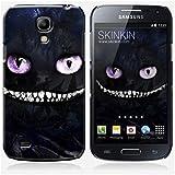 Coque Samsung Galaxy S4 mini de chez Skinkin - Design original : Dark cheshire cat par Julien Kaltnecker