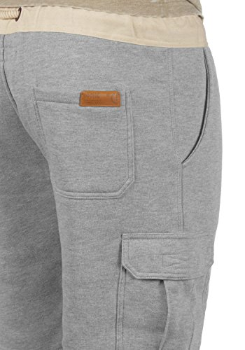 SOLID Trip Herren Cargo-Shorts kurze Hose Business-Shorts aus hochwertiger Baumwollmischung Light Grey Melange (8242)