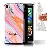Personalisiert Marmor Gel/TPU Hülle für HTC Desire 816G