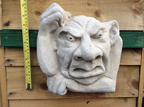 Stein Gargoyle Gesicht Garry Garten Guardian