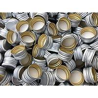15,25,50,75o 100Pieza cápsulas Cierres PP28para la mayoría de todas las formas de botella slkfactory