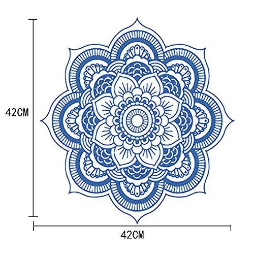 Pegatinas De Pared Flores Mandala Flor Dormitorio