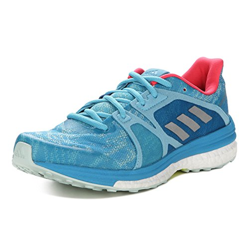 adidas Supernova Sequence 9, Chaussures de Running Entrainement Femme vapour blue f16-matte silber-craft blue f16