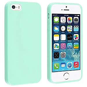 coque iphone 5 5s tpu et silicone gel housse pour iphone 5 5s turquoise vert high tech. Black Bedroom Furniture Sets. Home Design Ideas