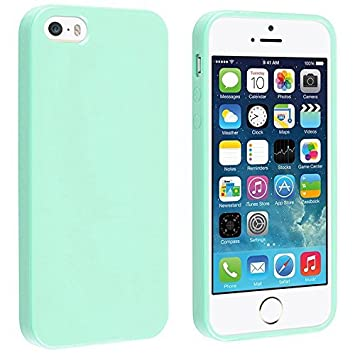 Coque iPhone Silicone Housse Turquoise dp BREPY