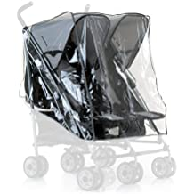 Hauck Rainy - Protector de lluvia para silla de coche grupo 0+