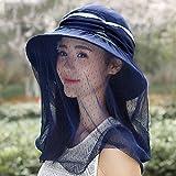 LBY Sonnenschirm Sonnenschutz Fahrrad Hut Im Freien UV Schutz Hals Falten Elektroauto Leer Top Sonnenhut Sonnenhüte