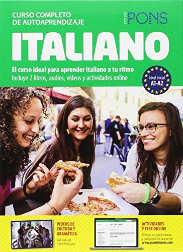 Curso Pons Italiano. 2 libros + 4 CD + DVD (Pons- Curso...