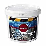 Mortier anti infiltrations eau ciment enduit prise rapide stop fuite béton colmatage Scellement drain réparation tuyau ARCASTOP