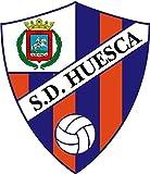 SD Huesca FC Spain Soccer Football Alta Calidad De Coche De Parachoques Etiqueta Engomada 10 x 12 cm