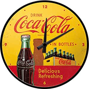 Nostalgic Art 51069 Coca-Cola in Bottles, giallo