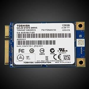 Toshiba mSATA SSD PCIe thnsnf128gmcs Mini SATA 3Go/s 128Go SSD Solid State Drive