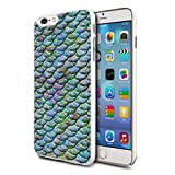 Mermaid Scales Design Phone Hard Case Cover For Various Mobiles - 44 For